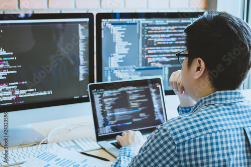 Cuadros en Lienzo developer programming and coding technology