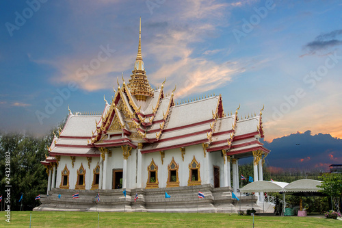 Foto  Temple in Asia, Nakhon Ratchasima, Thailand Important places