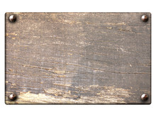 Old Wooden Plank With Vintage ...