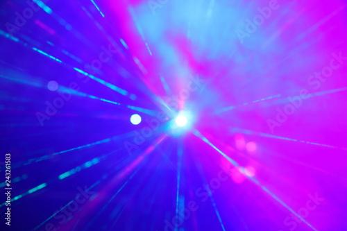Światło laser - fototapety na wymiar