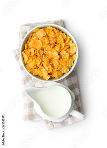 Wallpaper Mural Breakfast cereals or cornflakes.