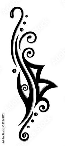 Mythologie tattoo nordische Wikinger Symbole,