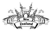 New Zealand Print Design.
