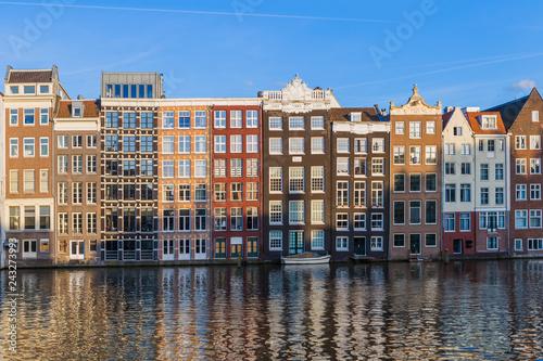 Amsterdam cityscape - Netherlands Canvas Print
