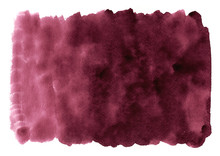 Burgundy Wine Watercolor Illus...