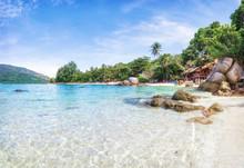 Panorama Of Asian Paradise Bea...