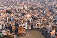 Dense Kathmandu City View Unde...