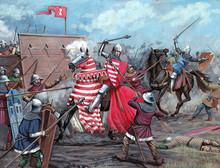 Medieval Battle. Hussite Wars....