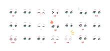 Emotions Eyes Of Anime (manga)...