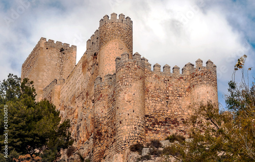 Castle of Almansa in Spain