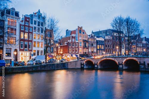 Poster Amsterdam Amsterdam, pays bas