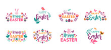 Happy Easter, Vector Symbols, ...