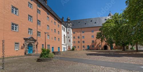 Foto op Aluminium Historisch geb. Schloss Hannoversch Münden