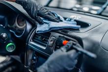 Auto Detailing Of Car Interior...