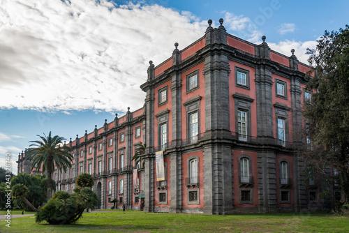 Fotografie, Obraz  The Capodimonte royal palace in Naples, Italy
