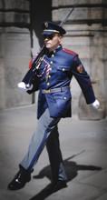 Marching Prague Castle Guard