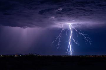 Lightning bolt storm