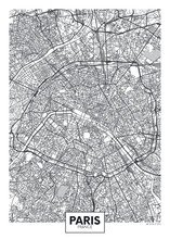 City Map Paris, Travel Vector ...