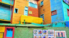 Landmark Colorful El Caminito ...