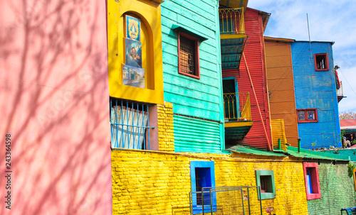 Deurstickers Buenos Aires Landmark colorful El Caminito quarter in La Boca district of Buenos Aires, Argentina
