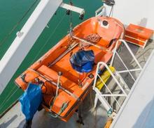 Lifeboat Ship Rettungsboot Sch...
