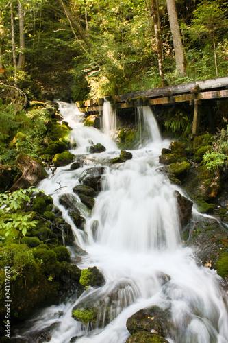 Fotografie, Obraz  Wasserfall