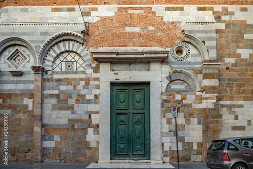 Duomo y Torre que se Inclina, Sitio de patrimonio mundial de la UNESCO, Pisa, Toscana, Italia, Europa Wallpaper Mural