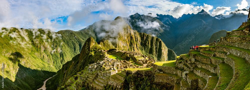 Fototapety, obrazy: Machu Picchu bei Sonnenaufgang