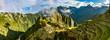 Machu Picchu bei Sonnenaufgang in Peru