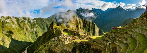 Foto  Machu Picchu bei Sonnenaufgang