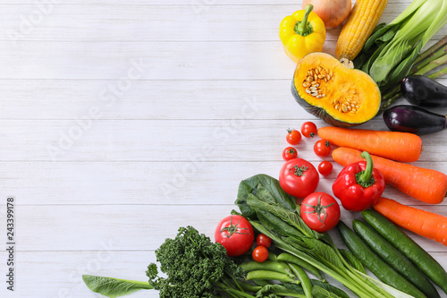 Canvas Print 野菜の枠