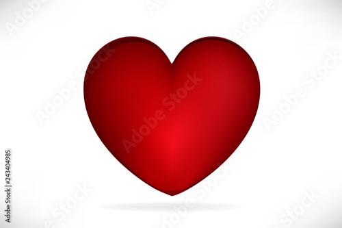 Photo Heart logo vector
