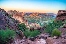 Colorful Sunrise On Camelback ...
