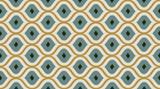 Seamless pattern geometric. Delicate beautiful ornament. Geometric fashion fabric print. Seamless vector pattern. - 243412787