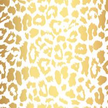 Seamless Gold Leopard Print. V...