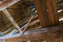 Internal View Of The Roof Of The Fortress Tower
