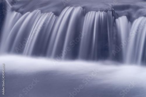 Fototapeta  Melting ice on river