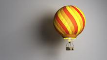 Hot Air Color Balloon Cast Sha...