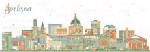 Jackson Mississippi City Skyli...