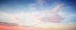 Leinwandbild Motiv Cloudy sky colorful background