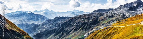 Canvas Prints Alps Alpenpass