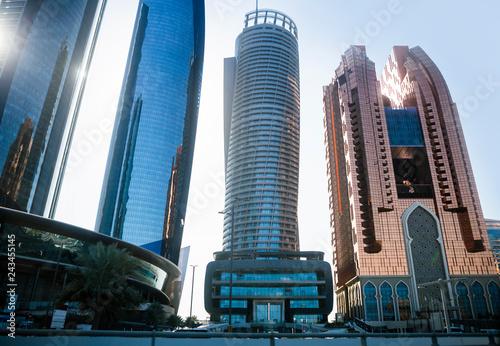 Canvas Prints Abu Dhabi Skyscrapers in Abu Dhabi, UAE
