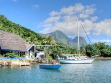 Tahiti. Island Of French Polynesia
