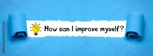 Fotografie, Obraz  How can I improve myself?