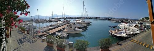 Scario - Panoramica del porto Fototapeta