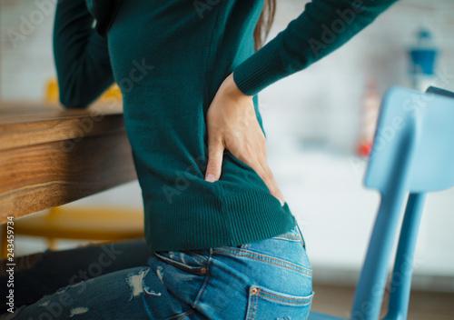 Fotografía  Lumbar pain