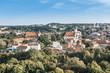 view of Buildings around Vilnius city, Lithuania