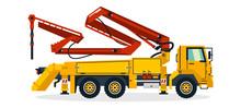 Concrete Pump, Commercial Vehi...