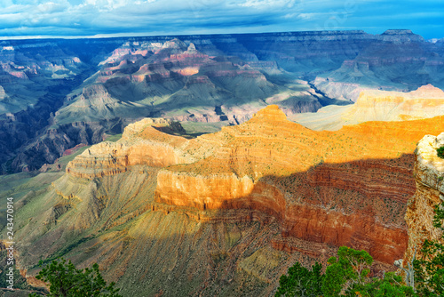 Spoed Foto op Canvas Centraal-Amerika Landen Amazing natural geological formation - Grand Canyon in Arizona, Southern Rim.