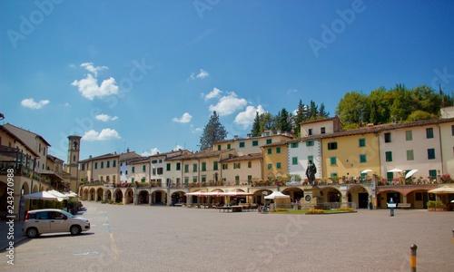 Canvastavla  Greve in Chianti